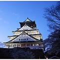 大阪城-夜晚大阪城.JPG
