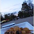 大阪城-城前團子.JPG