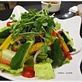 山山來茶-蔬菜芥末和風沙拉.JPG