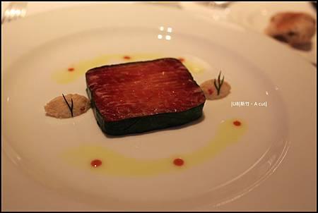 A cut-前菜煙燻鮭魚.JPG