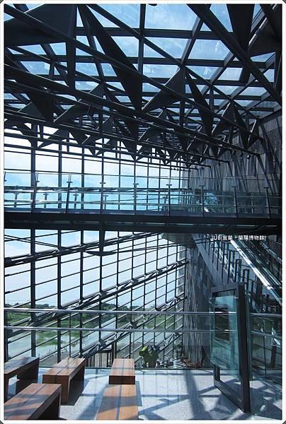 蘭陽博物館-走道階梯.JPG