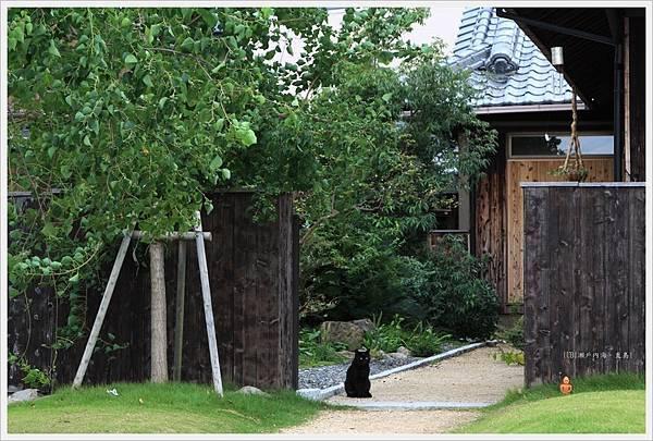 直島-garden黑貓.JPG