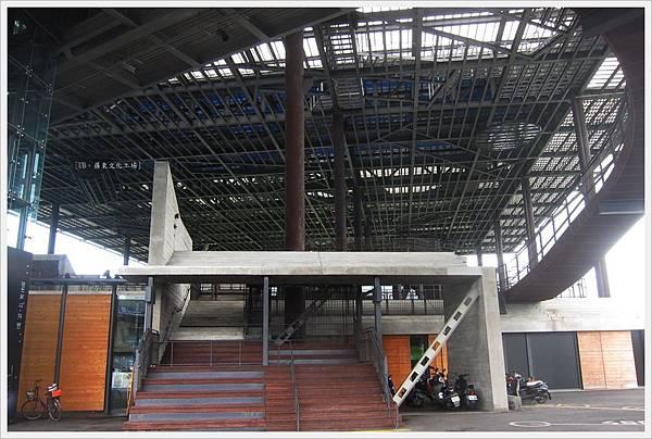 羅東文化工場-另一邊側門.JPG