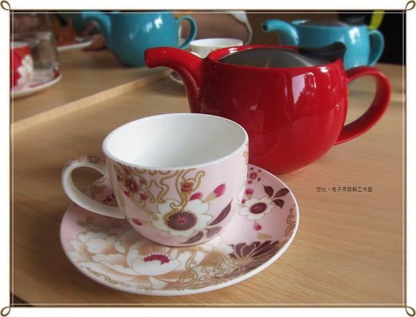 兔子洞-紅茶壺+粉紅杯.JPG