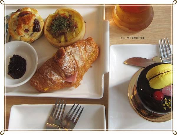 兔子洞-鹹點盤+蛋糕-2.JPG