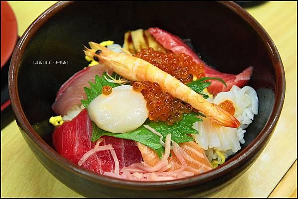 和歌山-白濱魚市場-海鮮丼.JPG