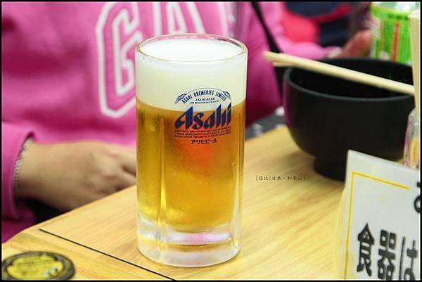 和歌山-白濱魚市場-啤酒.JPG