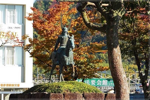 彥根城-井伊直政銅像.JPG