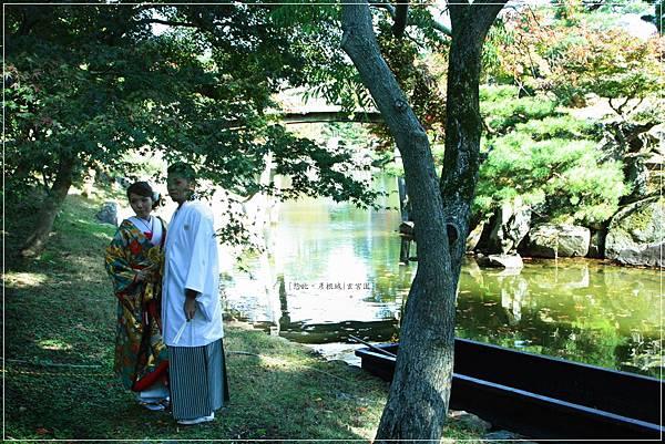 彥根城-玄宮園-婚紗.JPG