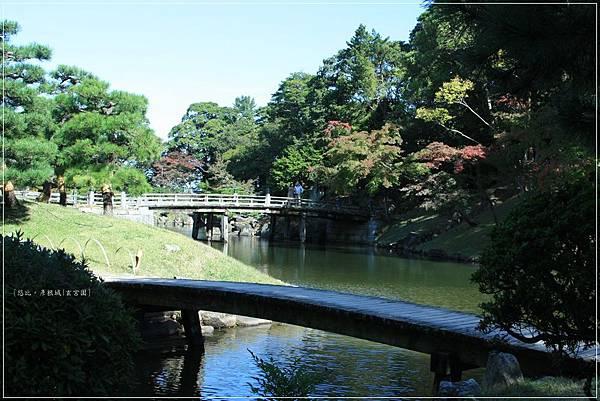 彥根城-玄宮園-琴橋+龍臥橋.JPG