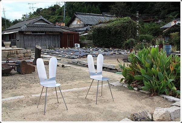 犬島-石職人的家跡觀賞椅.JPG