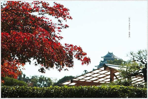 後樂園-紅葉與岡山城.JPG