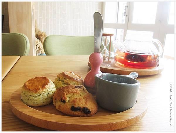 Lovely Tea -司康-2.JPG