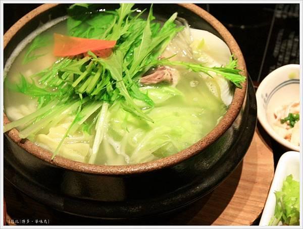 博多-華味鳥-水炊雞鍋-2.JPG