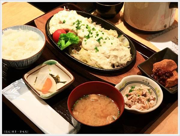 博多-華味鳥-雞肉南蠻御膳-2.JPG