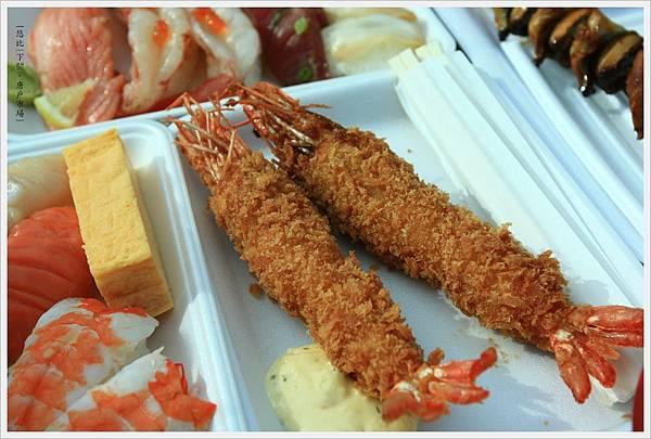 下關-唐戶市場-海鮮大餐-炸大蝦.JPG