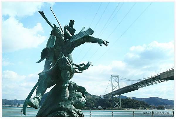 下關-御裳川公園-源義經-1.JPG