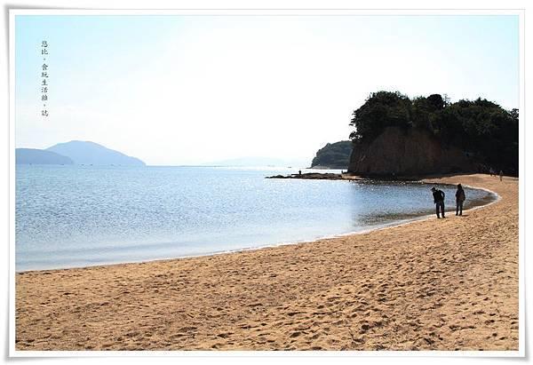 小豆島-天使的散步道-沙灘-1.JPG