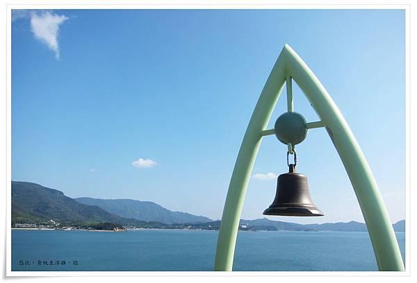 小豆島-天使的散步道-約定之丘展望台-幸福鐘-3.JPG