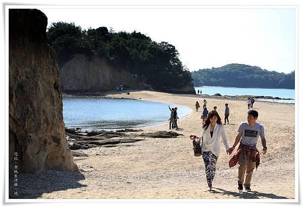 小豆島-天使的散步道-情侶.JPG