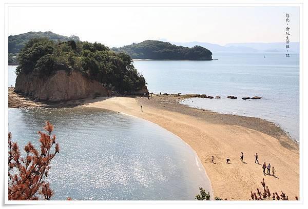 小豆島-天使的散步道-潮間帶-2.JPG