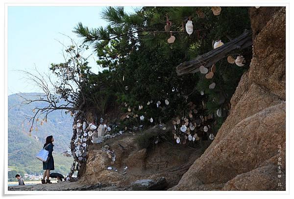 小豆島-天使的散步道-潮間帶小島.JPG