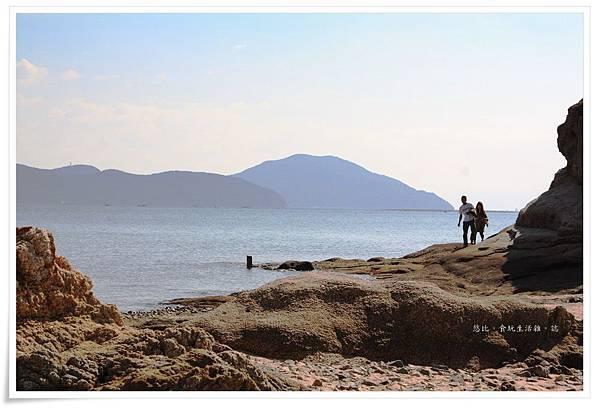 小豆島-天使的散步道-潮間帶小島-3.JPG