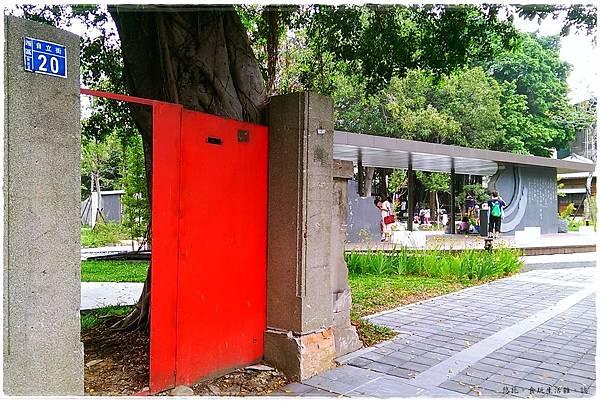台中文學館-保留大門