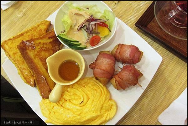 鮭魚咖啡-法國吐司早餐-2.JPG