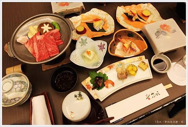 由布院-壽花之莊-晚餐-1.JPG