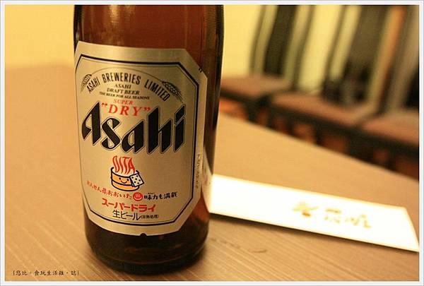 由布院-壽花之莊-晚餐-啤酒.JPG