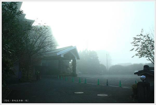 由布院-霧鎖飯店.JPG