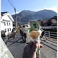 由布院-湯之坪-SNOOPY茶屋-霜淇淋.JPG