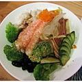 魚鮮會社-胡麻海鮮沙拉.JPG