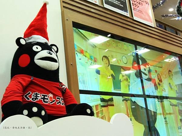 熊本熊見面會-電視牆.JPG