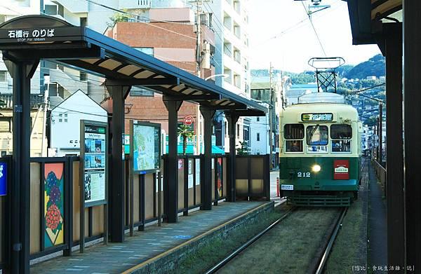 長崎-大浦天主堂站-電車.JPG