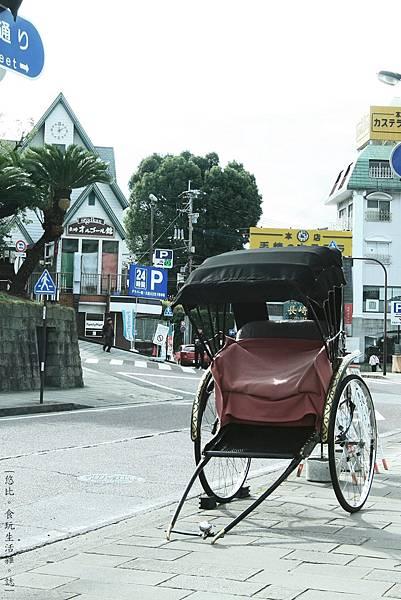 長崎-四海樓前人力車-1.JPG