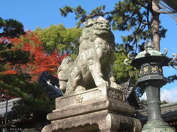 北野天滿宮-石獅子-1.JPG