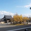 西本願寺-阿彌陀堂長廊看出去的視角-2.JPG
