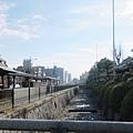 西本願寺-護城河-1.JPG