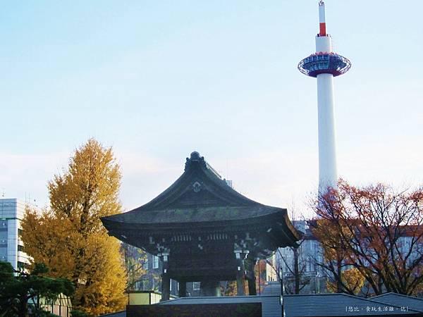 東本願寺-寺內的京都塔-2.JPG