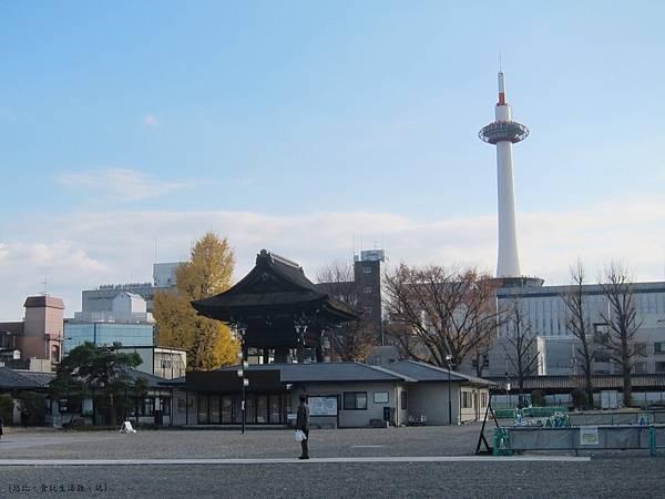 東本願寺-寺內的京都塔-3.JPG
