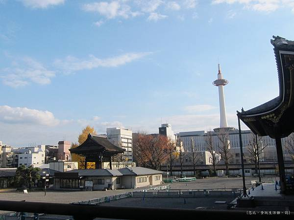 東本願寺-阿彌陀寺前京都塔-1.JPG