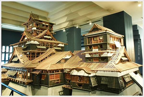 熊本城-木製熊本城模型.JPG