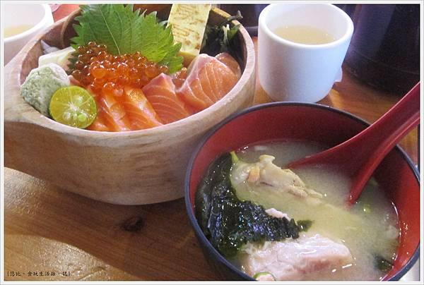 鵝房宮-味噌魚湯-2.JPG