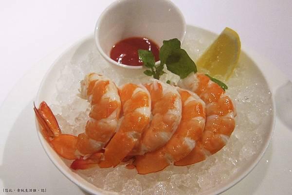教父牛排-前菜-雞尾酒蝦-1.JPG