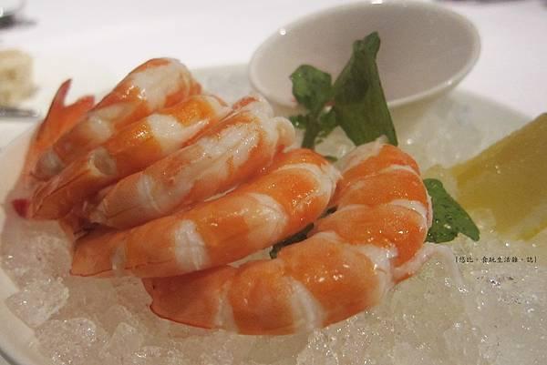 教父牛排-前菜-雞尾酒蝦-3.JPG