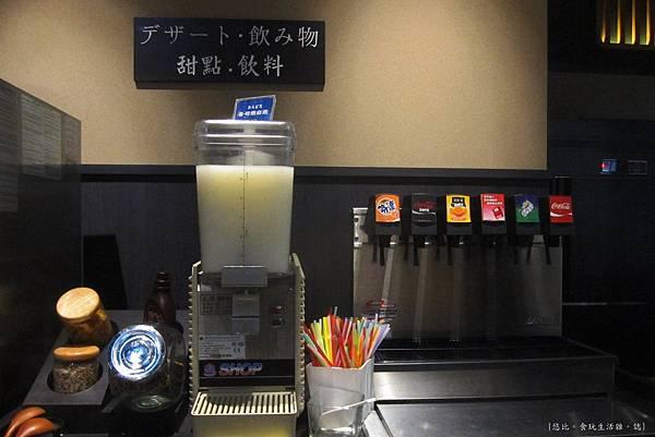 溫野菜-甜點.飲料區-1.JPG