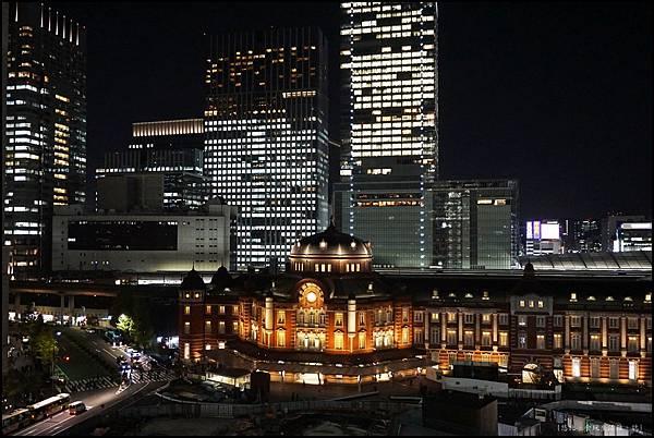 東京車站-新丸大樓夜景-1.JPG