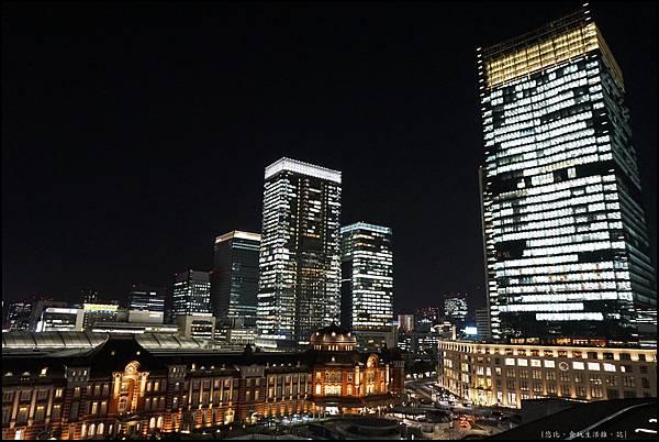 東京車站-新丸大樓夜景-4.JPG